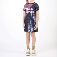 Two-tone sequined dress THE MARC JACOBS KID GIRL