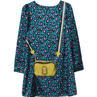 Printed satin dress THE MARC JACOBS KID GIRL