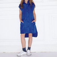 Silk dress with ruffle detail ZADIG and VOLTAIRE KID GIRL