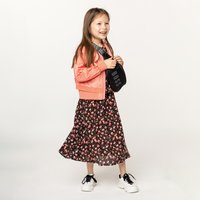 Long floral print dress ZADIG and VOLTAIRE KID GIRL