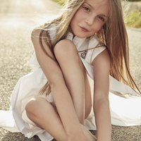 Embroidered cotton voile dress ZADIG and VOLTAIRE KID GIRL
