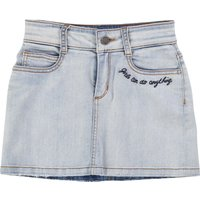 Embroidered denim skirt ZADIG and VOLTAIRE KID GIRL