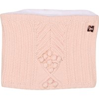 Cable knit cotton snood CARREMENT BEAU KID GIRL