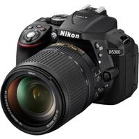 Nikon D5300 Kit AF-S DX 18-140mm VR Spiegelreflexkamera schwarz