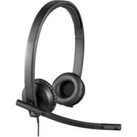 Logitech H570e On-ear Black