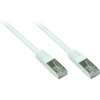 Good Connections Patch Netzwerkkabel RJ45 SF/UTP CAT5e 0,25m weiß 855W-003