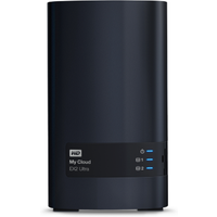 WD My Cloud EX2 Ultra NAS System 2-Bay 8TB (2x 4TB WD RED HDD)