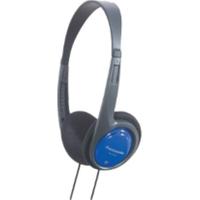 Panasonic RP-HT010E-A On-Ear Leichtbügel-Kopfhörer blau