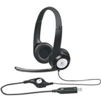 Logitech LGT-H390 On-ear Black