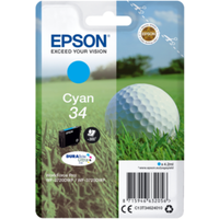 Epson C13T34624010 Druckerpatrone 34 cyan