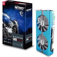 Sapphire AMD Radeon RX 580 Nitro+ SE OC 8GB Grafikkarte 2xHDMI/2xDP/DVI-D