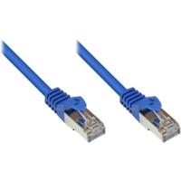 Good Connections 1,0m RNS Patchkabel CAT5E SF/UTP PVC blau