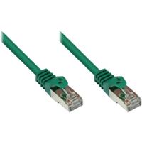 Good Connections 1,0m RNS Patchkabel CAT5E SF/UTP PVC grün