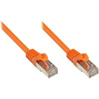 Good Connections 0,15m RNS Patchkabel CAT5E SF/UTP PVC orange