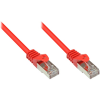 Good Connections 1,0m RNS Patchkabel CAT5E SF/UTP PVC rot