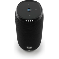JBL Link 20 schwarz Google Sprachsteuerung, Lautsprecher mit WLAN und Bluetooth