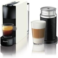 Krups XN 1111 Nespresso Essenza Mini & Aeroccino 3 weiß