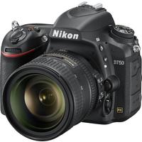 Nikon D750 Spiegelreflexkamera mit Objektiv AF-S VR 24-85mm