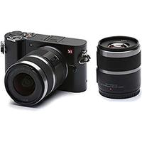 YI Technology M1 Doppel-Lens-Kit 12-40mm/F3,5-5,6 + 42,5mm/F1,8 Systemkamera