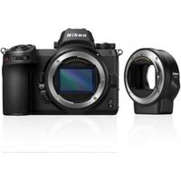 Nikon Z6 Kit Gehäuse Systemkamera + FTZ Objektivadapter