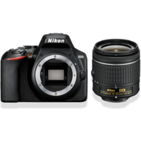 Nikon D3500 Kit Gehäus Spiegelreflexkamera + AF-P DX 18-55 mm VR Zoomobjektiv