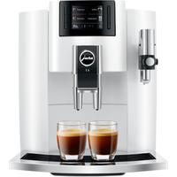JURA E8 Piano White Kaffeevollautomat