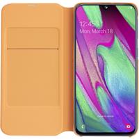 Samsung Galaxy A40 - Wallet Cover EF-WA405, Weiß