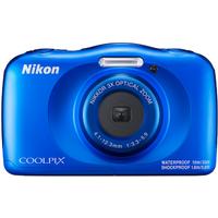 Nikon COOLPIX W150 Kamera wasserdicht, stoßfest, Bluetooth, blau