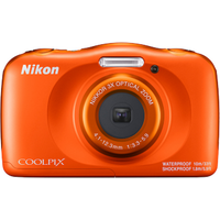 Nikon COOLPIX W150 Kamera wasserdicht, stoßfest, Bluetooth, orange