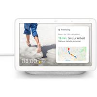 Google Nest Hub Kreide Smart Display mit Sprachsteuerung WLAN Bluetooth
