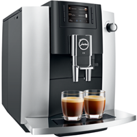 JURA E6 Platin Kaffeevollautomat