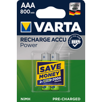 VARTA Ready2Use Akku Micro AAA HR3 2er Blister (800 mAh)