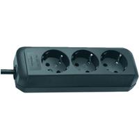 Brennenstuhl Eco-Line Steckdosenleiste 3-fach 1,5m schwarz