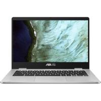 """ASUS Chromebook 14"""" FHD silber Pentium N4200 8GB/64G eMMC ChromeOS C423NA-EC0399"""