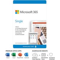 Microsoft 365 Single Download [inkl. Office Apps] DE