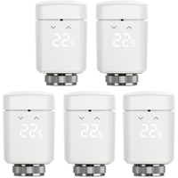 Eve Thermo - 5er Set Smartes Heizkörperthermostat mit Zeitplänen
