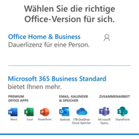 Microsoft Office Home & Business 2019 Box