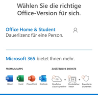 Microsoft Office Home & Student 2019 Box