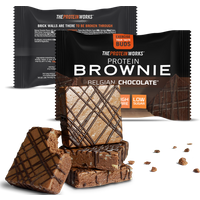 Image of The Protein Works PROTEIN BROWNIES (SINGLES)