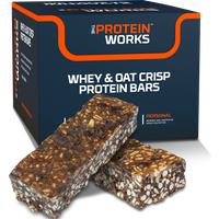 Whey & Oat Crisp Protein Flapjacks
