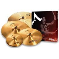 Zildjian A Cymbal Box Set + FREE 18 A MediumThin Crash - Nearly New