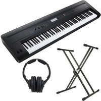 Korg KROSS 88 Key Music Workstation with KRK Headphones and Stand