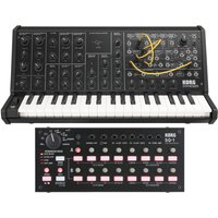 Korg MS-20 Mini Analog Synthesizer and SQ-1 Analog Step Sequencer