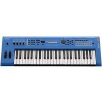 Yamaha MX49 II Music Production Synthesizer Blue