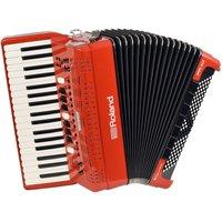 Roland FR-4X V-Accordion with Keyboard Red