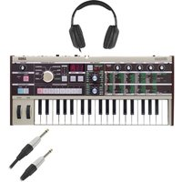 Korg microKORG Synthesizer With Cables and Headphones