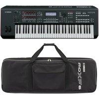 Yamaha MOXF6 Synthesizer Keyboard With Yamaha Soft Case