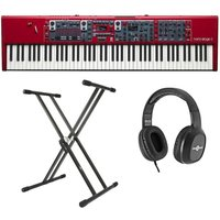 Nord Stage 3 88 Digital Piano With Stand and Headphones