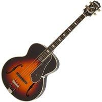 Image of Epiphone De Luxe Classic Acoustic Electric Bass Vintage Sunburst