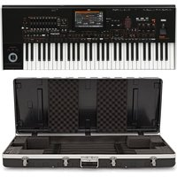 Korg pa4X-61 Keyboard with Gear4music ABS Case
